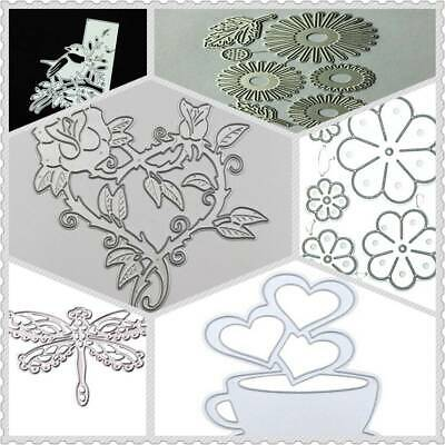 Metal Cutting Dies Die Cut Stencil Embossing DIY Scrapbooking Photo Album Ar @#