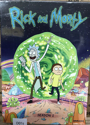 Rick and Morty: The Complete First Season DVD,' Sealed / Same Day Shipping