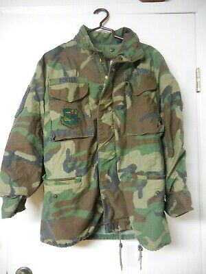 U.S. Air Force Cold Weather field jacket Camo Pattern Small/regular Winfield Co.