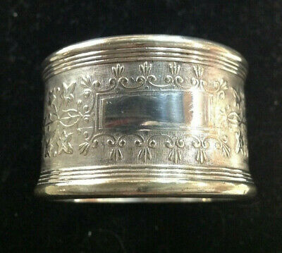 Antique Napkin Ring Plated
