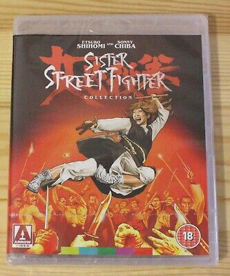 Sister Street Fighter Collection 4-Film Blu-ray Arrow Video Region Free
