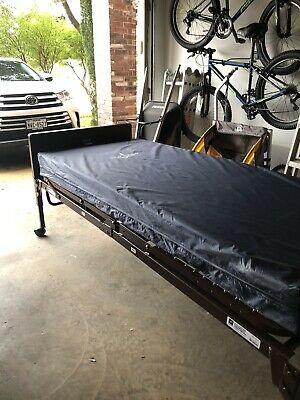 Medline Full Electric Bed With Therapeutic Foam mattress