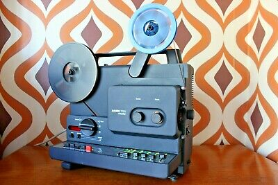 Bauer T520 Duoplay Stereo Super 8  8Mm Cine Film Movie Projector Boxed Working