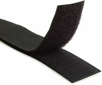 """Velcro® Brand 2"""" Inch Wide Black Hook and Loop Set - Sew-On Type - 12"""" Inches"""