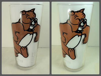 Vintage 1975 SPIKE Pepsi Collector Series Glass MGM Inc. White Letters Brockway