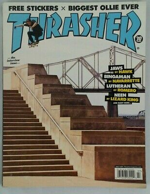 Thrasher Magazine July 2011 The Interview Issue 30 Years