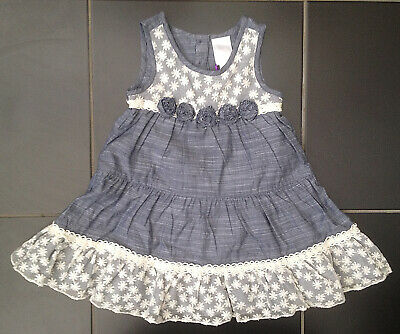 ВNWT Party Outfit • Lidia Jane Grey Lace Dress with Pants • 100% Cotton • 3 yrs