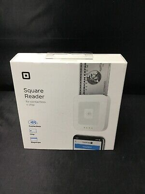Authentic Square Contactless and Chip Reader Brand New Factory Sealed