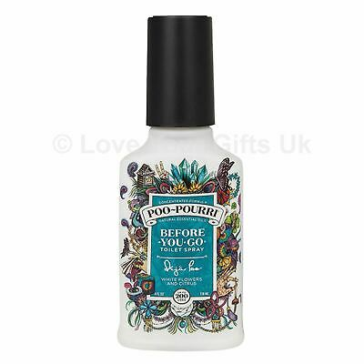 4oz DEJA Poo Pourri Before You Go Toilet Spray Freshener Odour 118ml