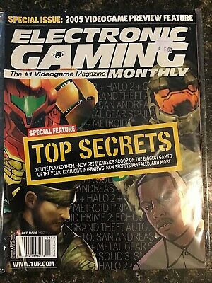 Electronic Gaming Monthly Jan 2005
