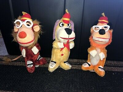 Hanna Barbera Banana Splits Dolls. Excellent Condition!! VERY RARE!