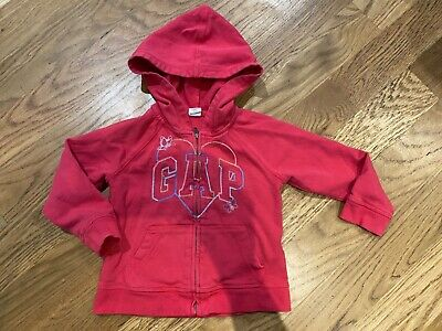 Baby Gap Girl Hoodie  Size 3 Years