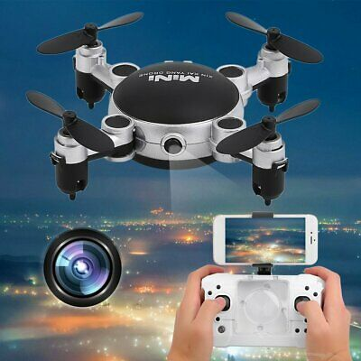 4 Axles Wifi Explorers 2.4G RC Headless Quadcopter Drones with HD Camera WW