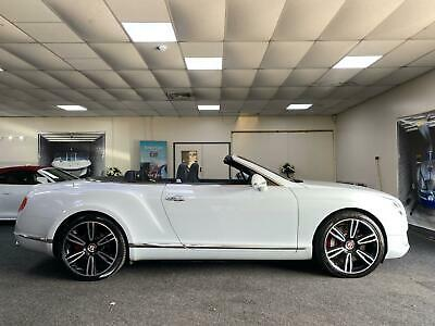 2013 Bentley Continental 4.0 GTC V8 Auto 4WD 2dr (EU5)