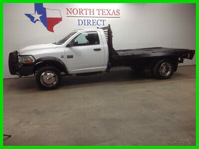 2011 Dodge Ram 4500 FREE DELIVERY 4500 4x4 Diesel Single Cab Flat Bed 2011 FREE DELIVERY 4500 4x4 Diesel Single Cab Flat Bed  Used Automatic Four
