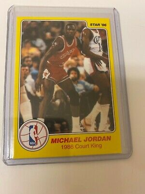 Michael Jordan 1986 STAR Court Kings #18 RC! HOF! The Last Dance! Perfect! $!