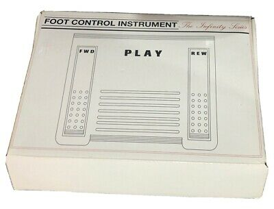 Dictation Foot Control Instrument
