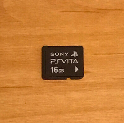 Sony PS Vita (Playstation Vita) -- Original 16 GB Memory Card -- Tested