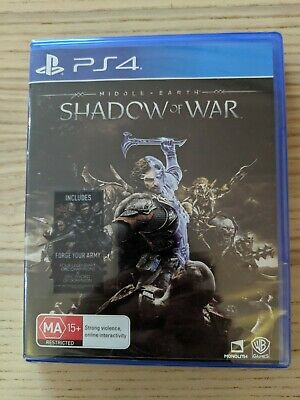 Middle Earth:Shadow of War PS4 Game BRAND NEW Factory Sealed