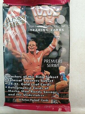 Wwf Action Packed 1994 Sealed Packet