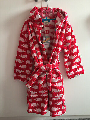 Girls Frugi (organic) Dressing Gown Age 8-9 Years
