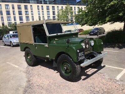 "Land Rover Series 1 86"" galvanised chassis"