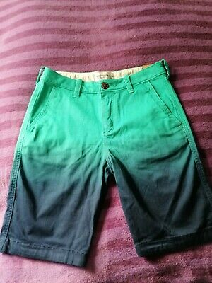 Bnwt 'Abercrombie & Fitch Kids' Boy's Grey Shorts 13 - 14 Years