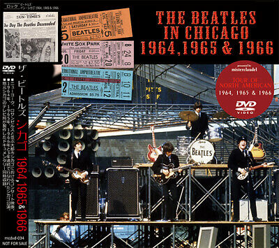 Beatles The In Chicago 1964 1965 1966 Dvd