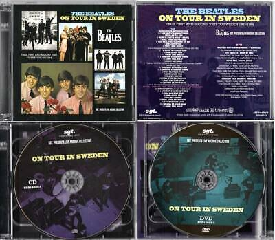 Cd Dvd First And Second Visit Sweden 1963/1964 Beatles