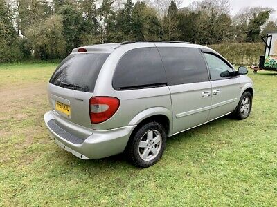 Chrysler voyager executive 2.4 petrol 7 seater mpv vehicle