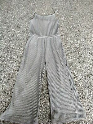 Girls Grey Jumpsuit From Next Age 6