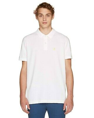 United Colours of Benetton White Polo Shirt XXL Classic Shirt RRP £28