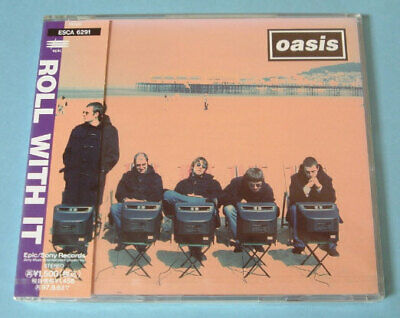 Oasis Roll With It Maxi Single Cd