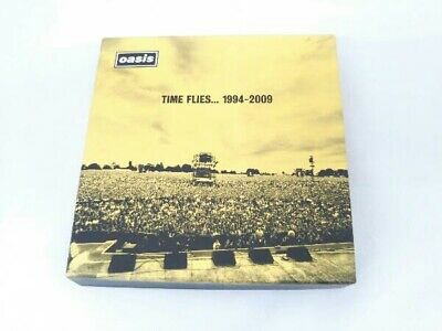 Oasis Cd Time Frize 1994-2009 Limited Edition With Dvd