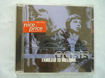 Oasis / Familiar Millions No Overseas Lyrics Card