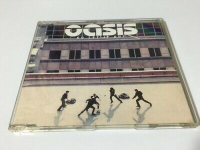 Oasis Out Of Print Input Disk Cd Go Let It