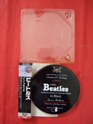 Rare Canned Cd Beatles In Black Inn Mbc-015