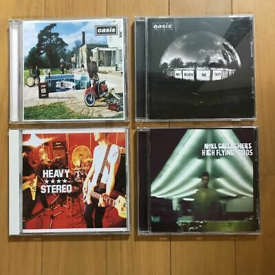 â—¯ Oasis Heavy Stereo Noel Gallagher Cd 4 Pieces Set