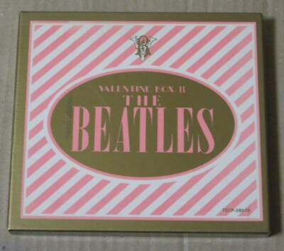 Domestic Version Used Discontinued Cd / Beatles Valentine Box Ii Valuable Sound
