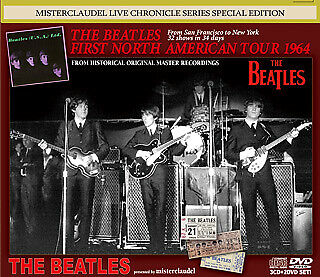 Beatles First North American Tour 1964 3Cd 2Dvd