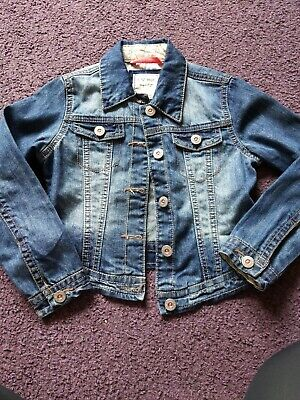NEXT Girls Denim Jacket Age 7-8 Years