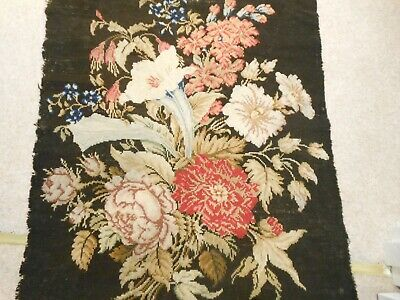Antique Wool Work Tapestry