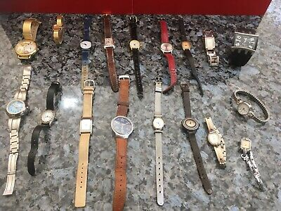 House Clearance - Bulk Watches X  (18)  Collectables -Barn Find Vg Con