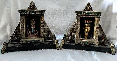Egyptian Collectibles (2) Pharaoh/Pyramid Table Night Lights              EGY 10