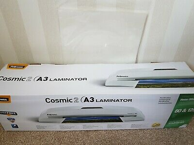 Fellowes Cosmic 2 A3 Home Office Laminator, 80-125 Micron, Including a3 pouches