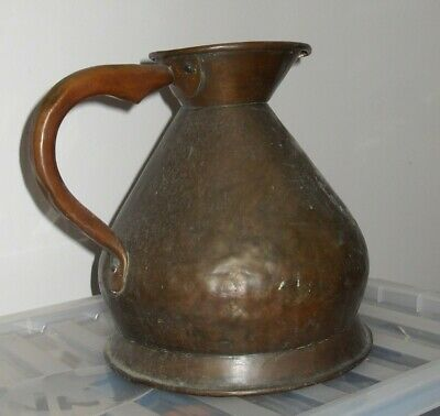 Antique Vintage Copper 1Gallon measure.