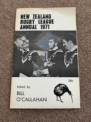 New Zealand Rugby League Annual 1971