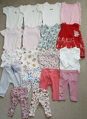 18 Baby Girls Clothing Items Size 3-9 Mths - Joblot 29