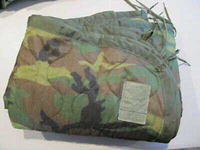 U.s. Army Liner, Wet Weather, Poncho 2000 Excellent Condition Possibly Unused?