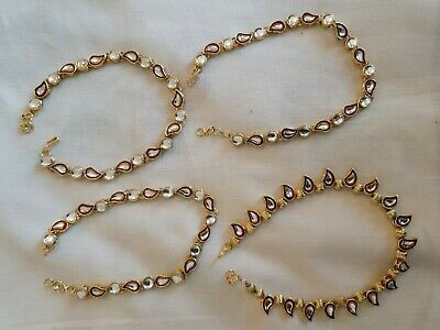 Assorted Anklets Costume Jewellery